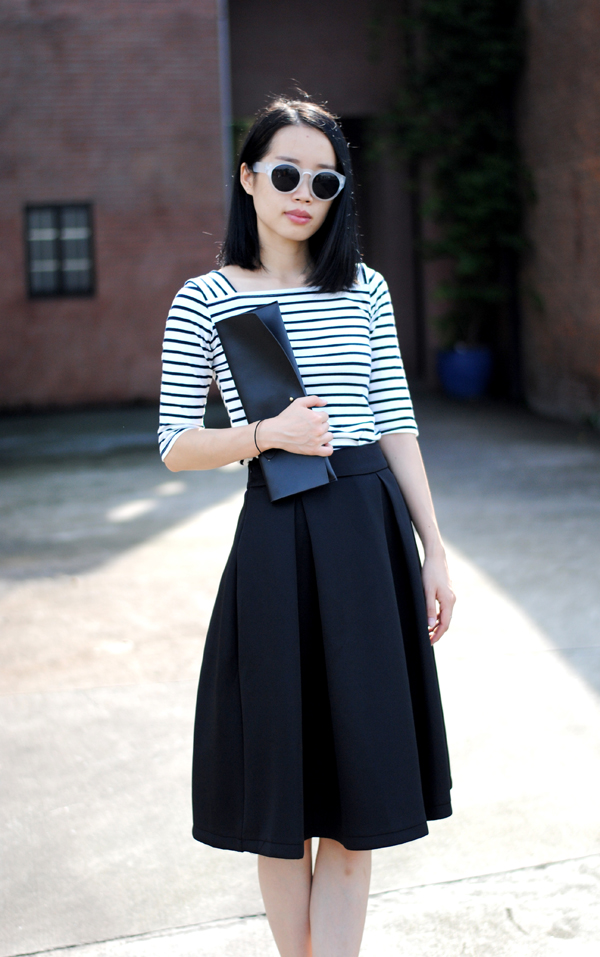 Midi High Waisted Skirt - Dress Ala