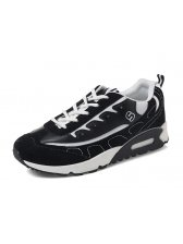 Fashion Sports Style Men Sneakers Black Handsome London Style Breathable Shoes
