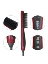 Hair Straightener, NexGadget Professional Detangling Hair Brush Hair Styling Comb Digital Anti Static Anti-Scald Ceramic