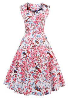 Wholesale Fashion Floral Vintage Dresses