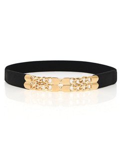 Fashion Metal Patchwork Ladies Belts
