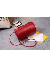 Cheap Wholesale Solid Zipper Cylinder Bag