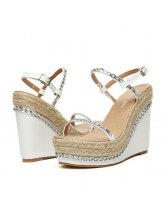 Metal Chain Platform The Wedges Sandals