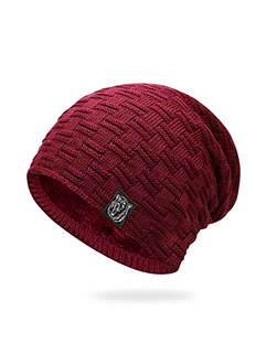 Casual Stripe Easy Match Warm Unisex Knit Hat