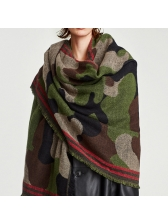 New Arrival Camouflage Printing Scarf (3-4days Delivery)