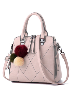 New Geometric Seam Elegant Ladies Handle Bag(3-4 Days Delivery)