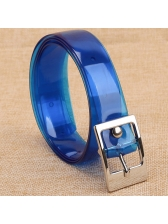 Korean Fashion Transparent Solid Belt