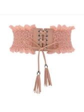 Summer Hollow Out Lace Belt
