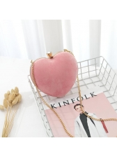 Stylish Heart-shaped Chain Ladies Bags For Party