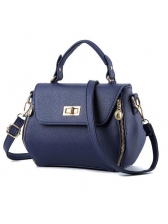 Elegant Women Solid Cover Handle Bags(3-4 Days Delivery)