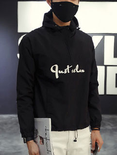 Letter Printing Outdoor Hoodies For Men