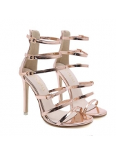 Roma Style Thin Heel Strappy Fashion Women Pumps