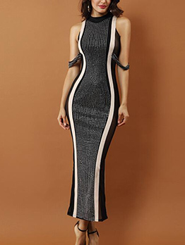 Boutique Euro Style Sexy Studded Dress