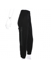 Fashion Fitted High Waist Casual Pants