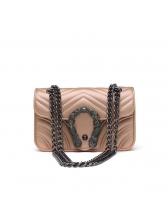 Modern Geometric Design Chain Shoulder Bags