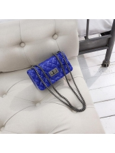 Chic Geometric Design Chain Shoulder Bags