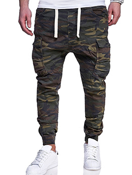 Hot Sale Big Pockets Camouflage Casual Pants