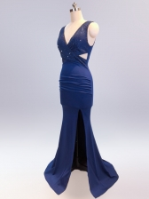 Chic Solid Sexy Elegant Evening Dress