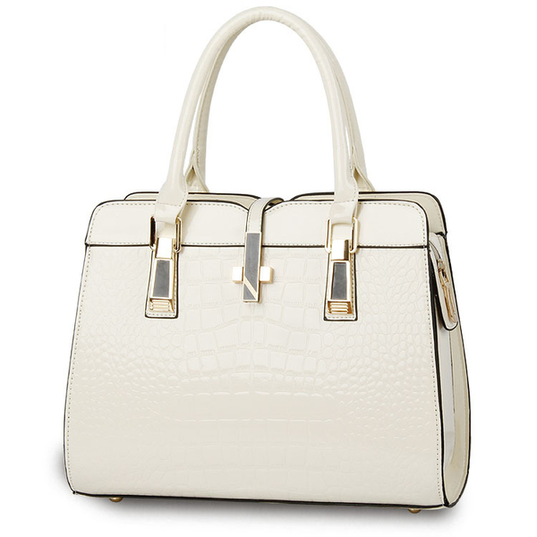 Euro Alligator Print Patent Leather Handbags