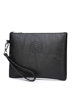 Casual Soft Leather Large Capacity Men's Clutch Bags