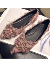 New Arrival Soft Soles Pointed Ladies Flats