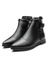 Fashionable Rivet Pointed Chic Women Boots