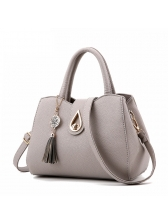 New Arrival Large capacity Pendant Solid Handbags