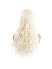 Beautiful Long Wave Center Parting High Quality Synthetic Wigs For Women