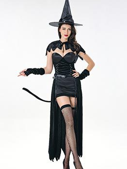 Devil Witch Cosplay Halloween Sexy Costume