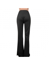 Euro Hot Sale Contrast Color Sequined Long Pants