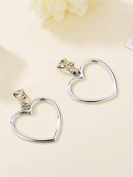 Japanese Honey Girls Heart Shape Earring