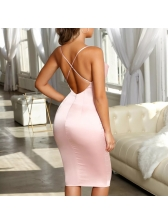 Hot Selling Sexy Backless Bodycon Dress
