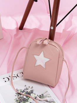 New Arrival Star Printed Mini Cheap Shoulder Bags