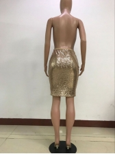 Sexy Sequined Pencil Skirt For Women