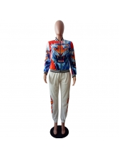 Classic Tiger Hand Stand Neck Jackets