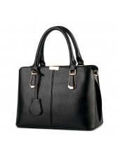 Simple Style Large Capacity Handbag For Women