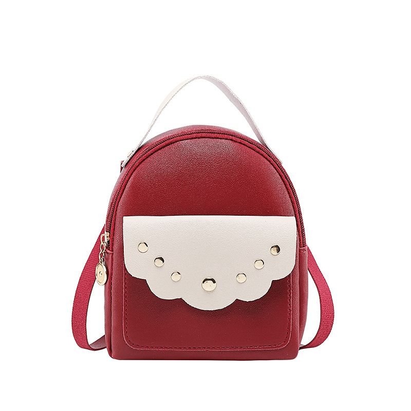 Rivers Decor Contrast Color Mini Backpack