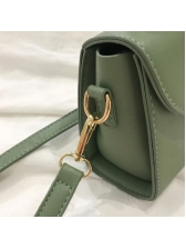 Simple Solid Color Ladies Shoulder Bag