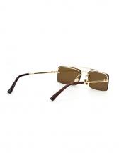 New Arrival Square Non-frame Ladies Sunglasses