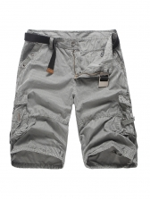 Solid Striped Tooling Short Pants