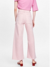 Ol Style Wide Leg Trouser For Women