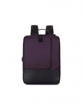 Minimalist Square Design Large Capacity Business Backpack