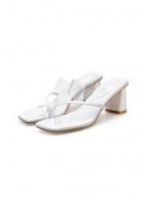 Fashionable Toe Ring PVC Outdoors Slippers
