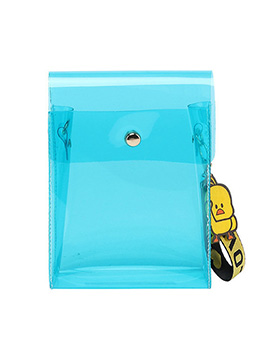Simple Design Transparent PVC Shoulder Bags