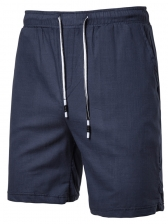 Simple Style Solid Drawstring Short Pants