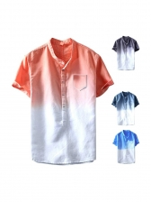Euro Fitted Graduated Color Shirt For Men