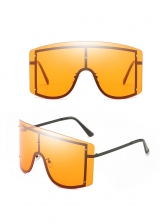 Gradient Color Sun-Shade Trendy Large Sunglasses