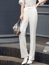Korean Design High Waist Trousers For Women