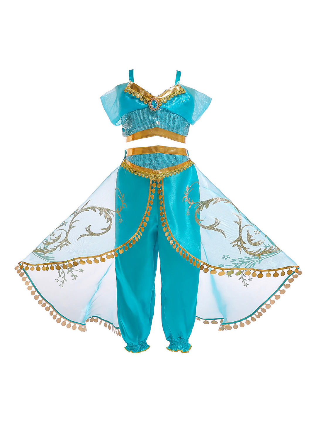Aladdin Cosplay Sets Girls Halloween Costumes